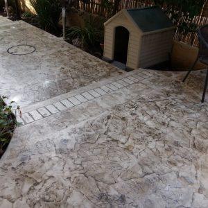 החלקת בטון - בומנייט - אבן רומית - דוגמה 07