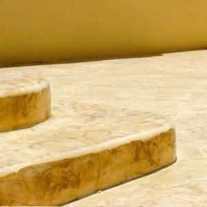 מדרגות בטון מוחלק | מדרגות בטון מוטבע -07
