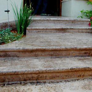 מדרגות בטון מוחלק | מדרגות בטון מוטבע -08