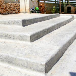 מדרגות בטון מוחלק | מדרגות בטון מוטבע -12