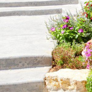 מדרגות בטון מוחלק | מדרגות בטון מוטבע -14