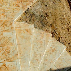 מדרגות בטון מוחלק | מדרגות בטון מוטבע -15