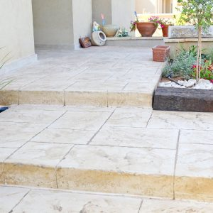 מדרגות בטון מוחלק | מדרגות בטון מוטבע -16