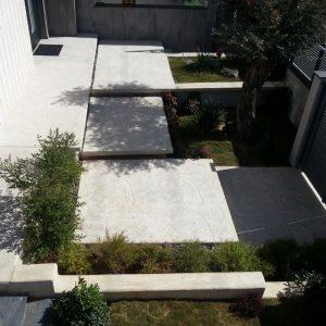 מדרגות בטון מוחלק | מדרגות בטון מוטבע -06