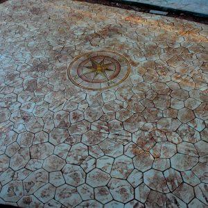 הטבעת בטון - בומנייט - אבן פראית - דוגמה 02