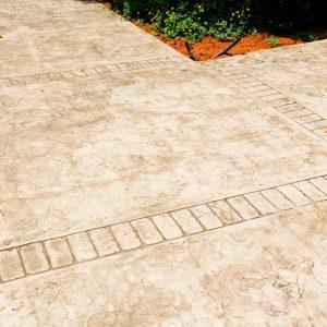 החלקת בטון - בומנייט - אבן רומית - דוגמה 10