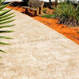 החלקת בטון - בומנייט - אבן רומית - דוגמה 12