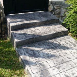 מדרגות בטון מוחלק | מדרגות בטון מוטבע -22