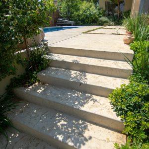 מדרגות בטון מוחלק | מדרגות בטון מוטבע -23